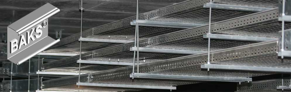 Cable trays BAKS