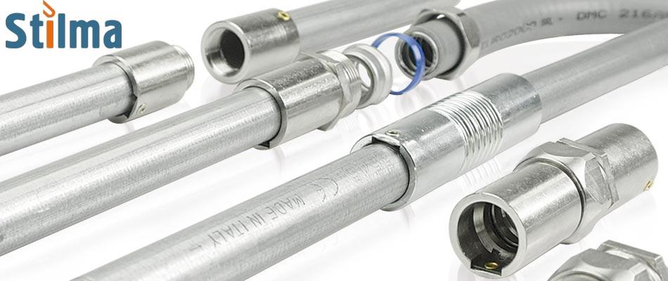 Металлические кабельные трубы и металлорукав Stilma