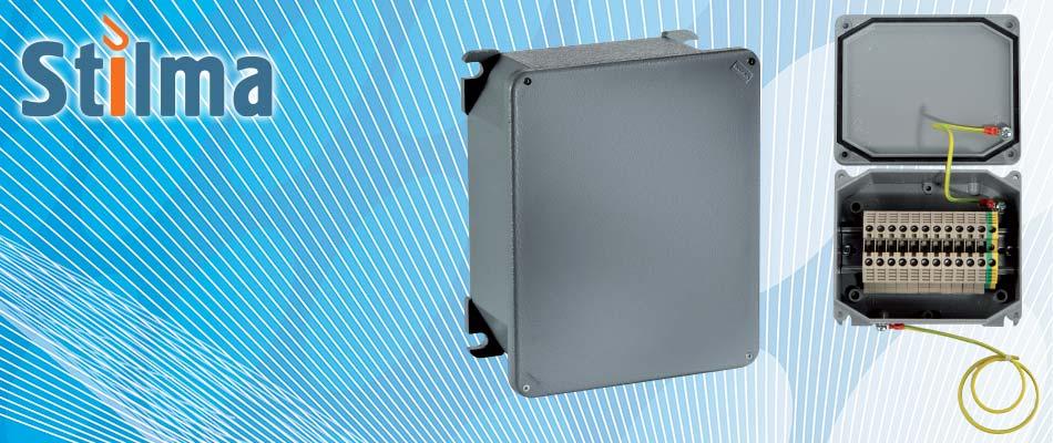 Алюминиевые распределительные коробки Stilma