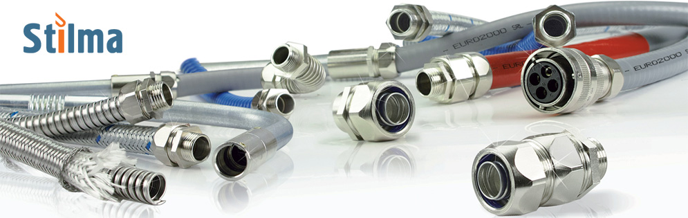 Metal hoses for cables Stilma