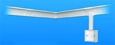 Карнизные пластиковые кабельные короба Marshall Tufflex серия Cornice