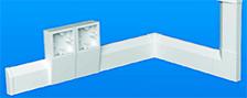 Плинтусні пластикові кабельні короба Marshall Tufflex серія Sovereign