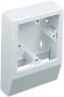 Накладной подрозетник для кабельного короба Marshall Tufflex серии Mini MSSB100
