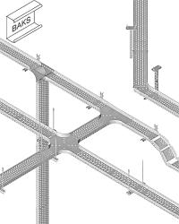 Решение - Система металлических кабельных лотков Baks