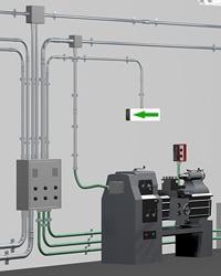 Система электротехнических оцинкованных труб Stilma