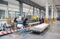 Factory of plastic profiles